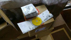 CD arrived