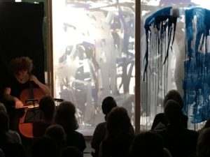 'The Painted Bach' as part of the 'Art That Moves' program at Willoughby Arts Centre, March 2017.