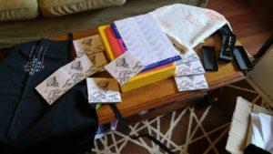 sending out stuff